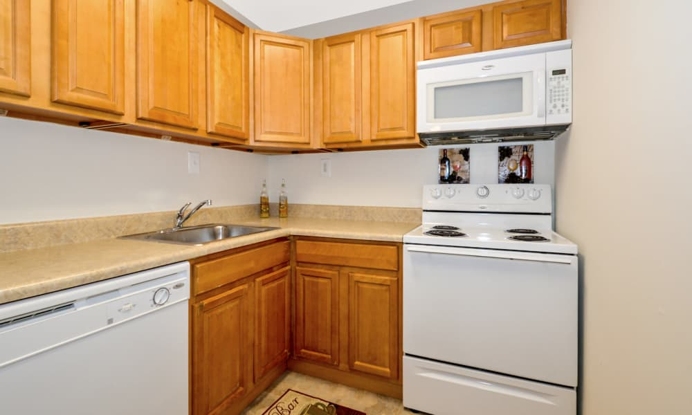 Our apartments in Lansdale, PA offer a fully equipped kitchen