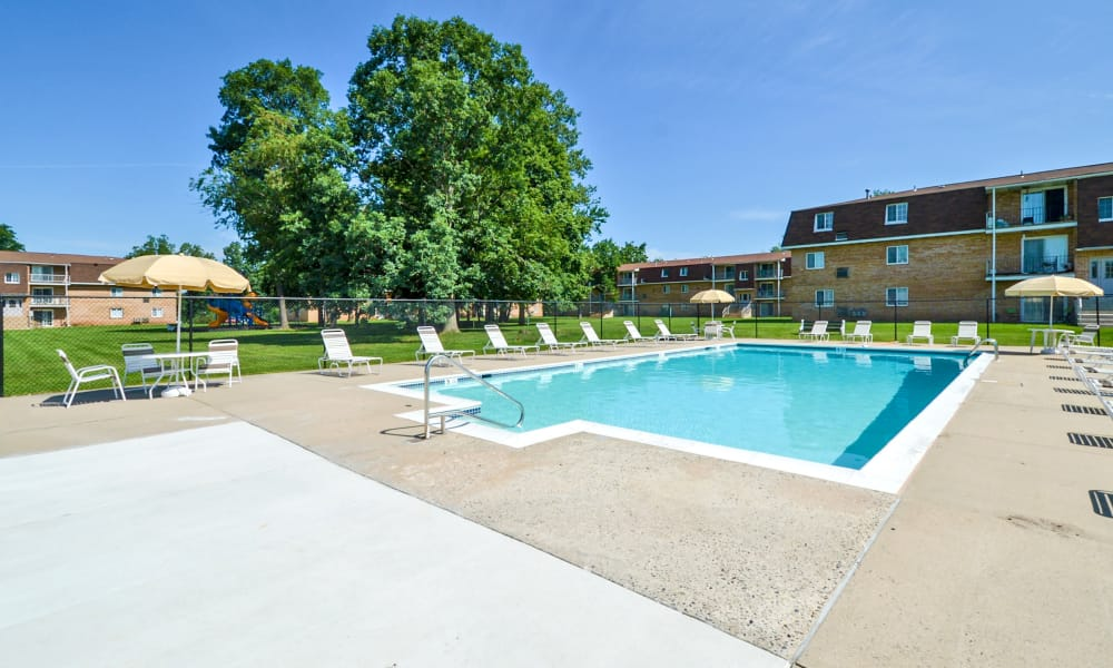 Main Street Apartment Homes offers a swimming pool in Lansdale, PA
