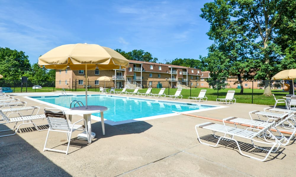 Our apartments in Lansdale, PA offer a swimming pool
