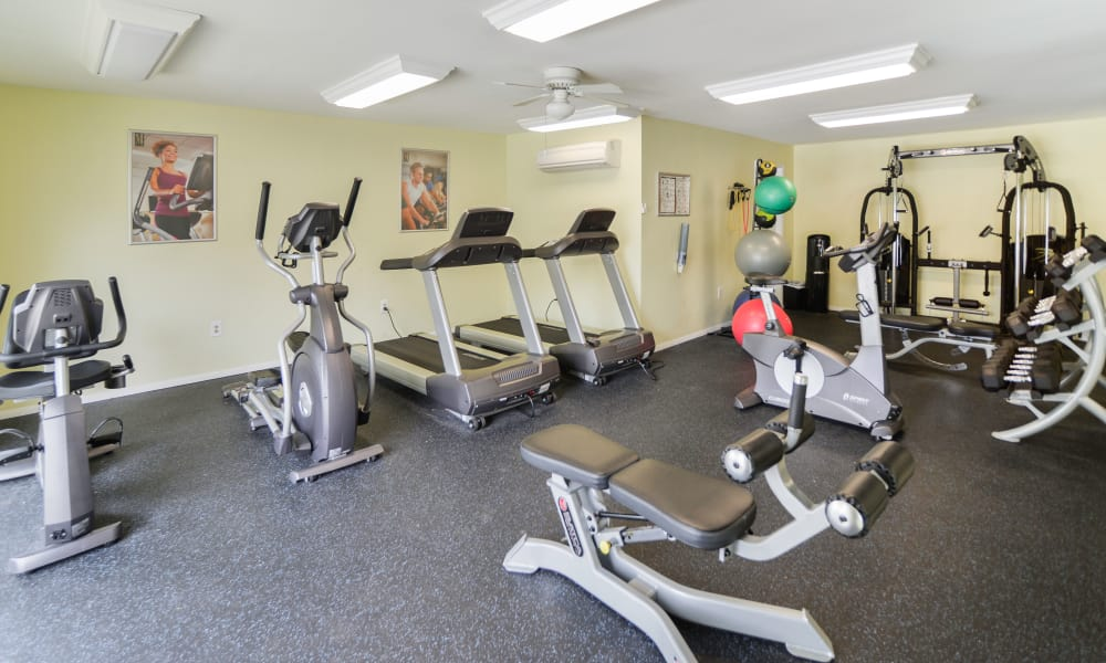 Our apartments in Lansdale, Pennsylvania have a state-of-the-art fitness center