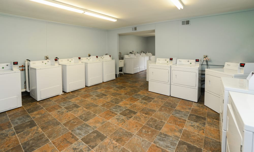 Unique laundry facility at Brookside Manor Apartments & Townhomes in Lansdale, Pennsylvania