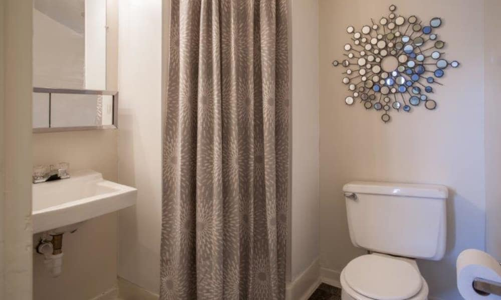 Our apartments in State College, Pennsylvania offer a bathroom
