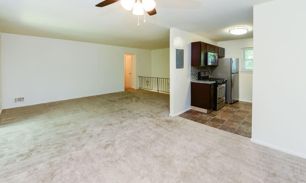 Our apartments in Mt. Arlington, NJ showcase a spacious living room