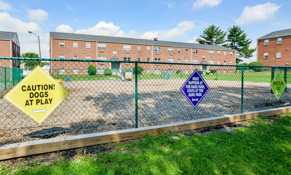 Our apartments in Bellmawr, New Jersey offer a dog park