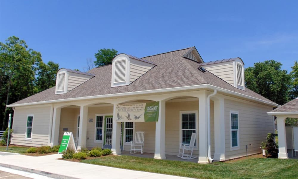 Courtyard Commons leasing office in Jamestown, NC