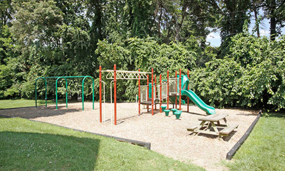 Glen Mar Apartment Homes offers a playground in Glen Burnie, Maryland