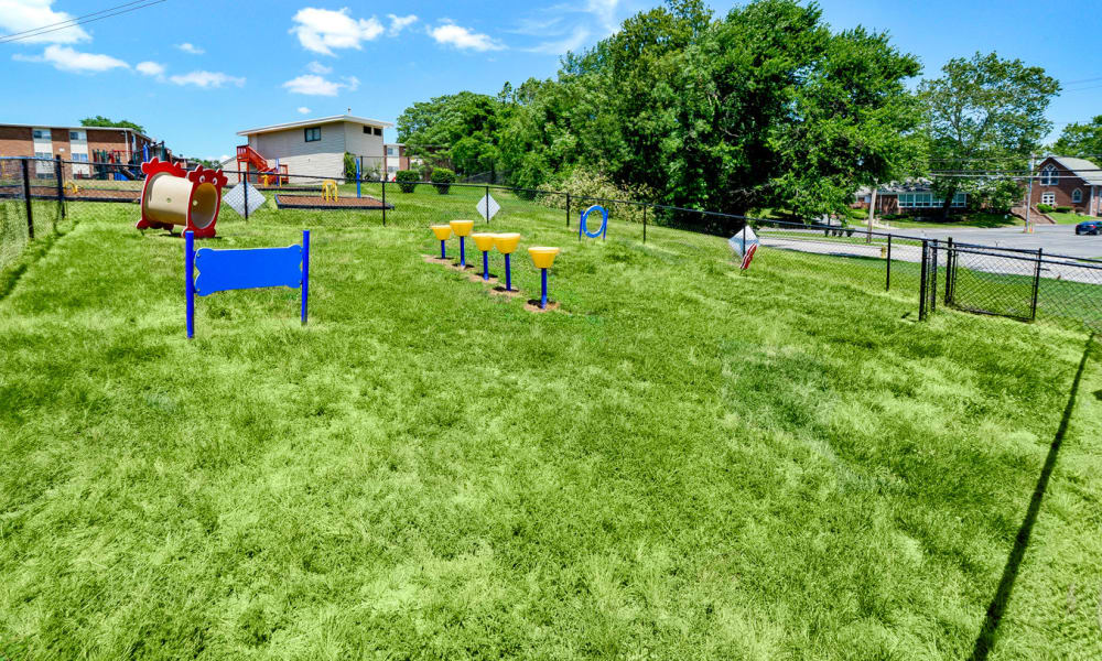 Glen Ridge Apartment Homes offers a dog park in Glen Burnie, Maryland