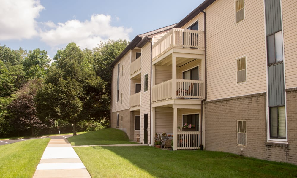Our apartments in South Park, PA offer walking paths