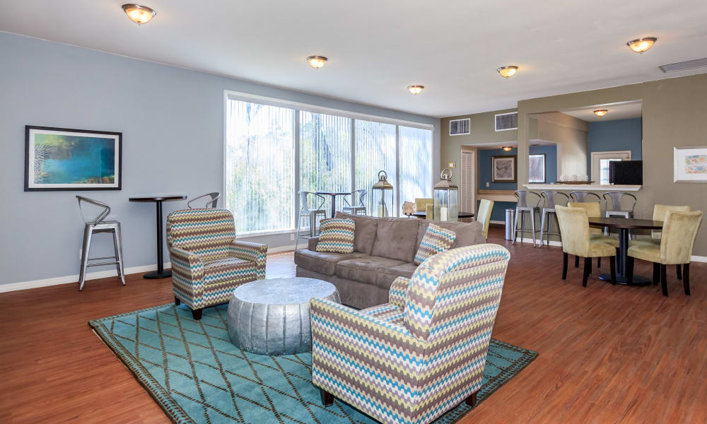 Apartments Spacious Living Room At Canopy Creek In Jacksonville FL