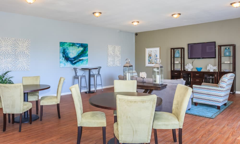 Clubhouse interior at Canopy Creek in Jacksonville, FL