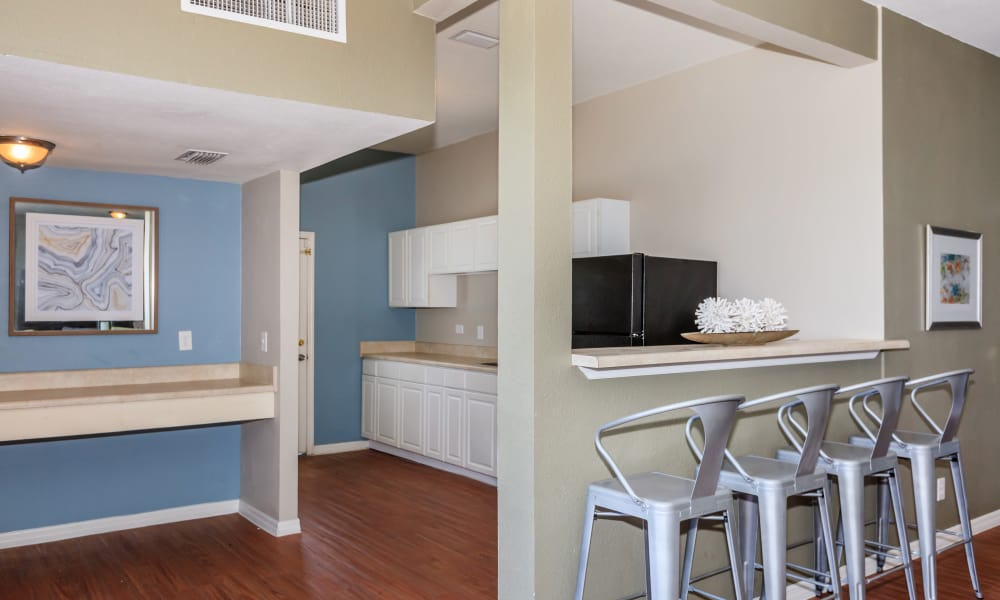 Canopy Creek clubhouse kitchen in Jacksonville