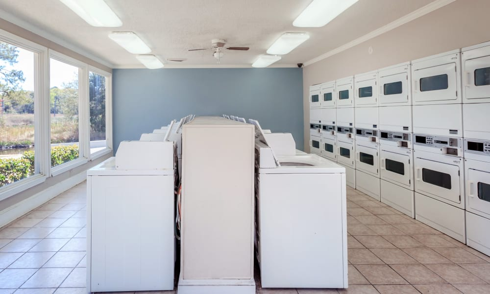 Canopy Creek has an on-site laundry facility