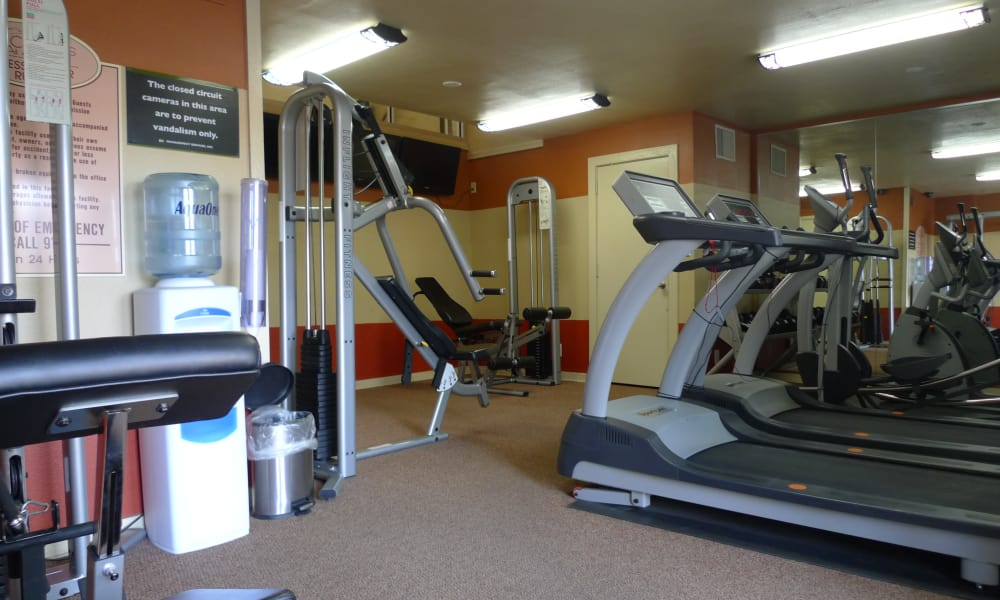 Stay healthy in our fitness center in Amarillo, Texas