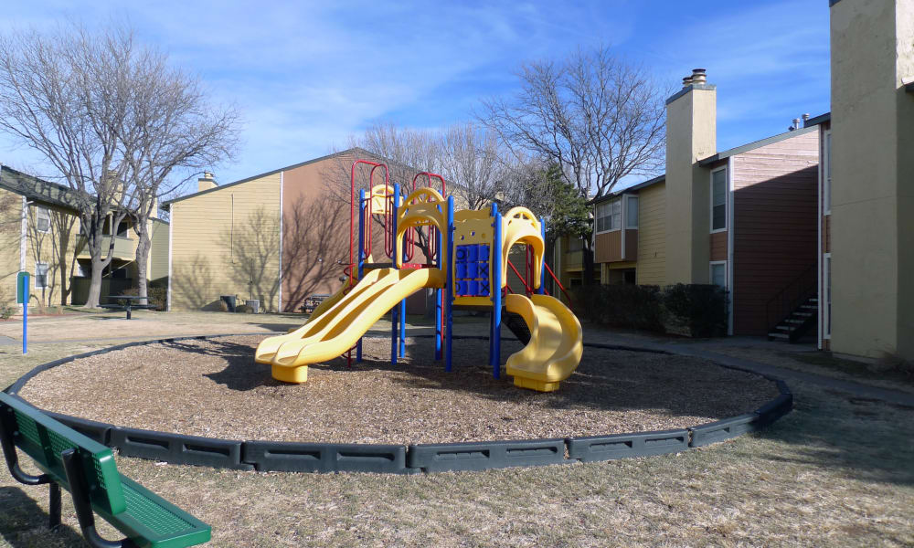 Playground at Canyons at 45 West in Amarillo, Texas