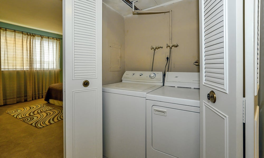 Sherwood Crossing Apartments & Townhomes in Philadelphia, Pennsylvania offers apartments with a washer/dryer