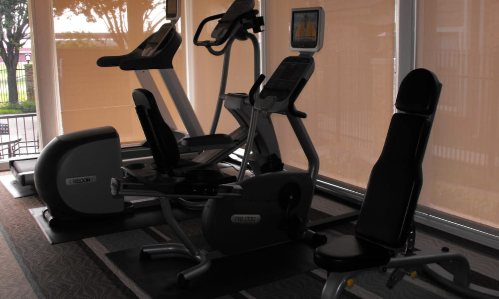 Stay healthy in our fitness center in Irving, Texas