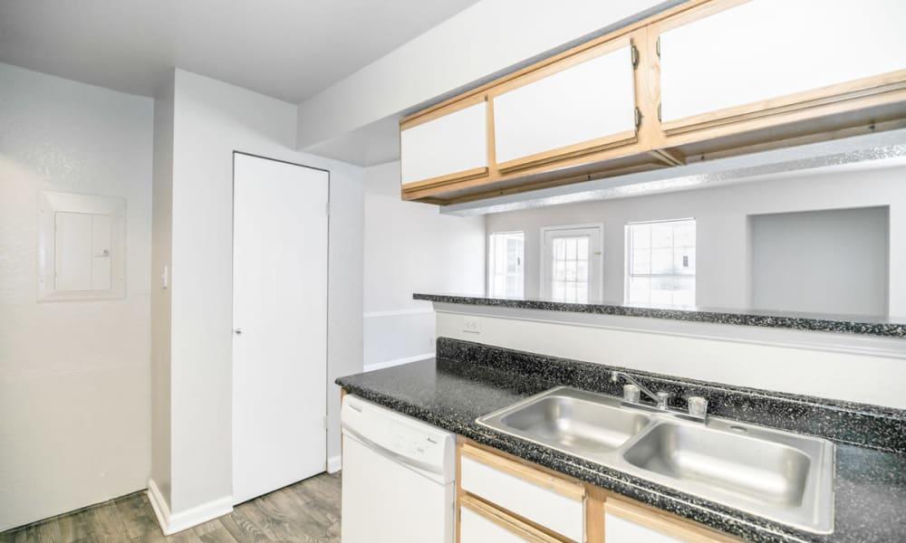Our apartments in Tulsa, OK showcase a luxury kitchen