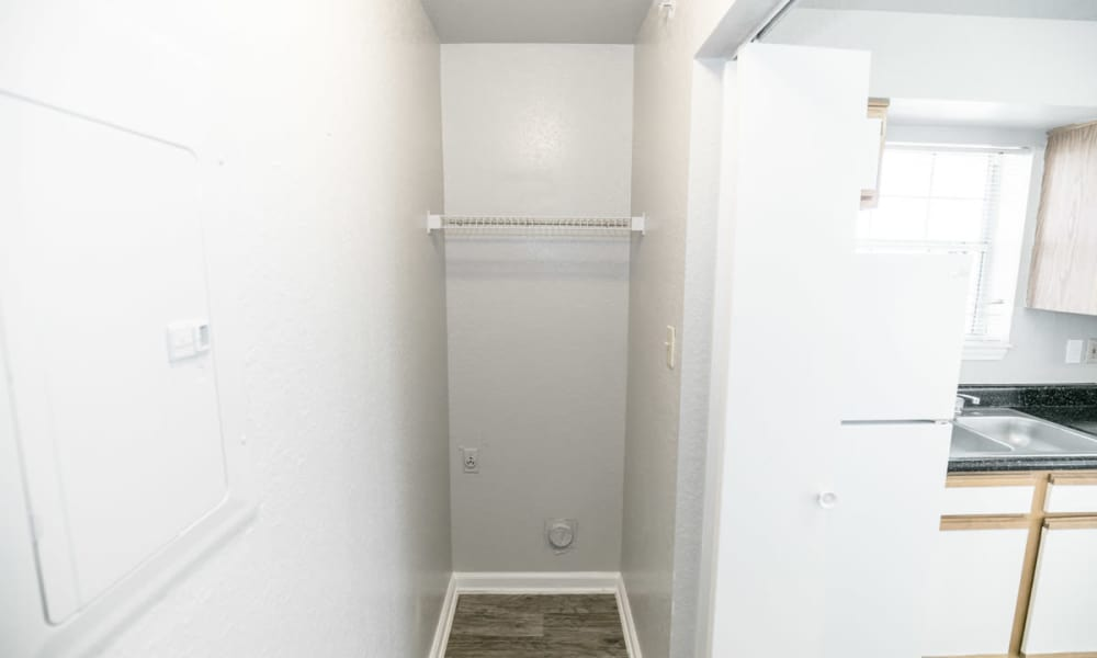 89 East offers a washer and dryer room in Tulsa, Oklahoma