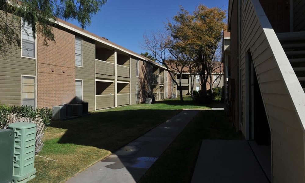 Wind Tree offers walking paths in El Paso, Texas