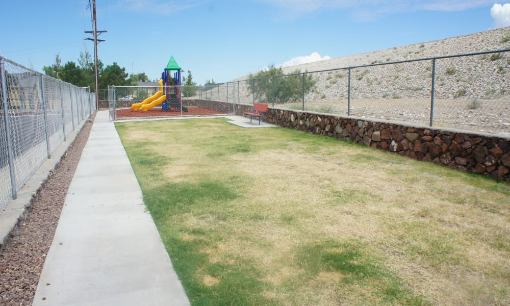 Playground at Pear Tree in El Paso