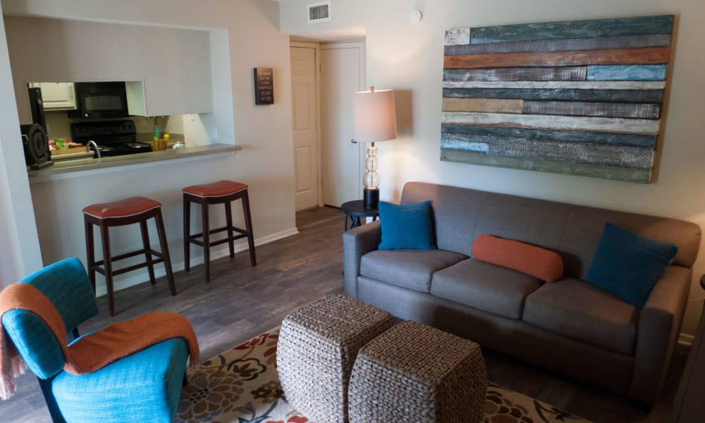 The Annex offers ample living space in Midland apartments