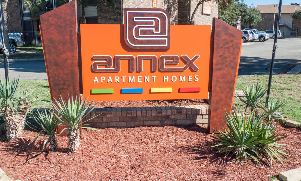 The Annex signage in Midland, TX