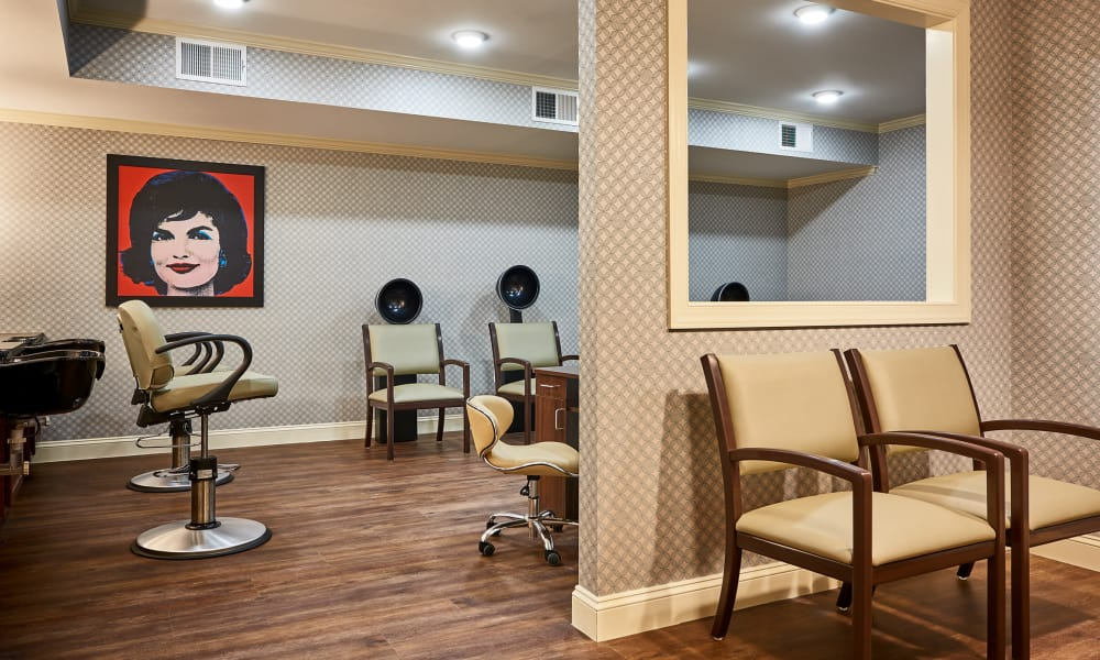 Salon at Waltonwood at Ashburn in Ashburn, VA