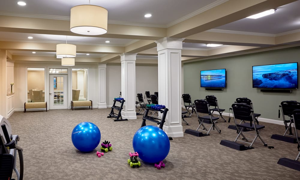 Fitness Room at Waltonwood at Ashburn in Ashburn, VA
