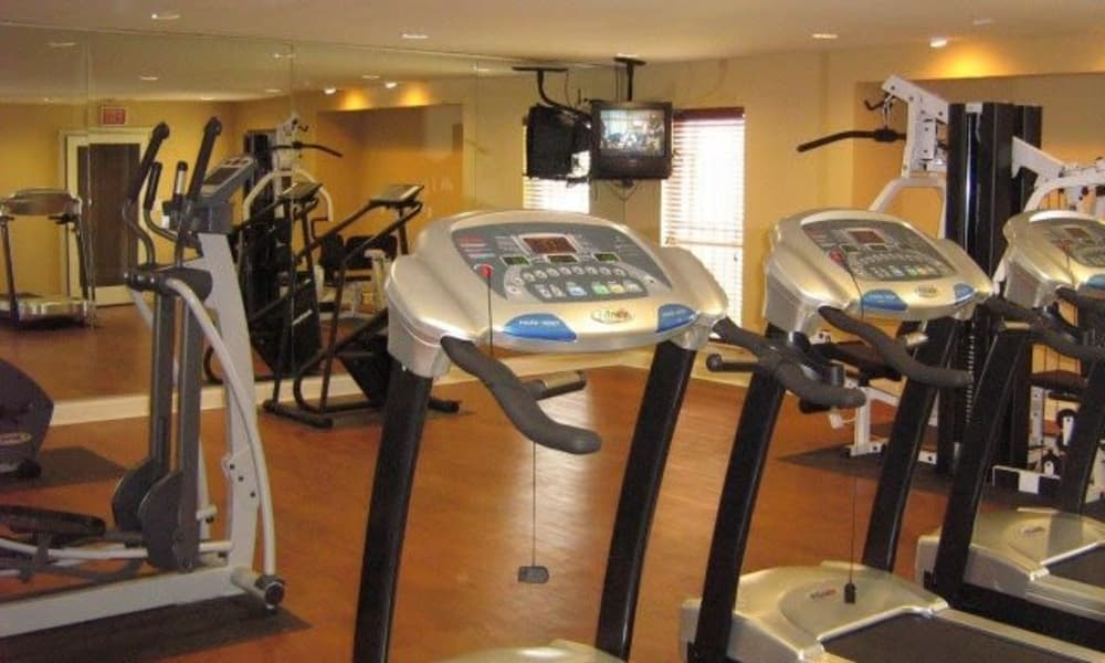 Ladera Palms offers a beautiful fitness center in Fort Worth, TX