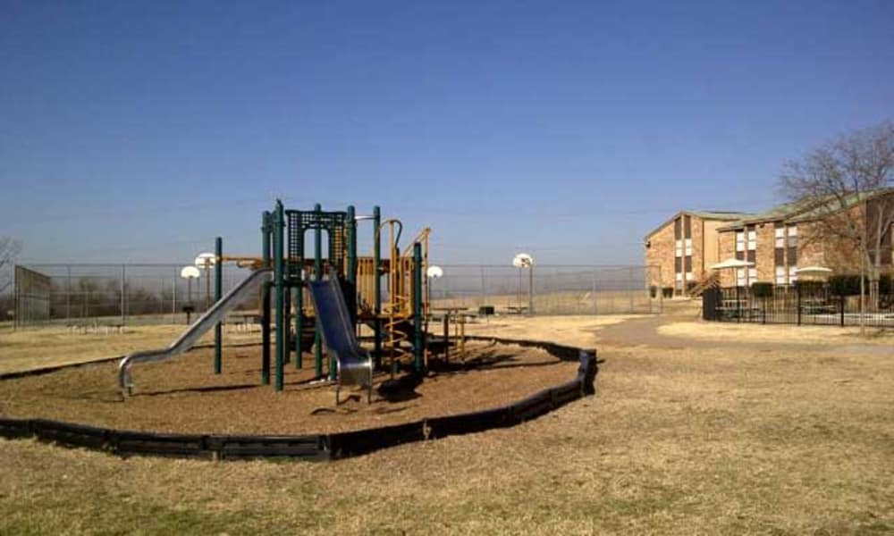 Beautiful playground at Ladera Palms in Fort Worth, TX