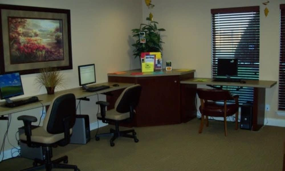 Commom area at Ladera Palms in Fort Worth, TX