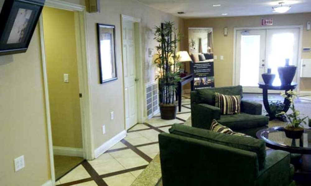 Our apartments in Fort Worth, TX showcase a beautiful living room