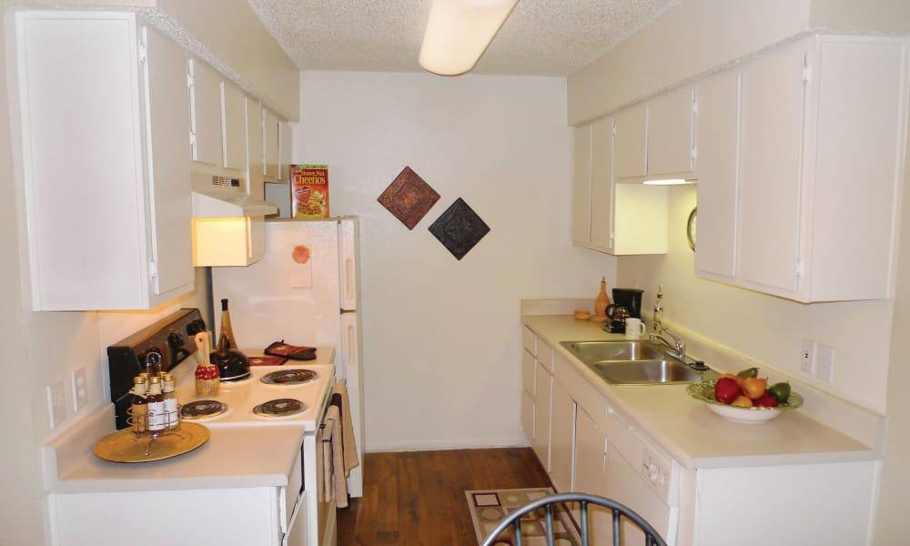 Enjoy a beautiful kitchen at Ladera Palms