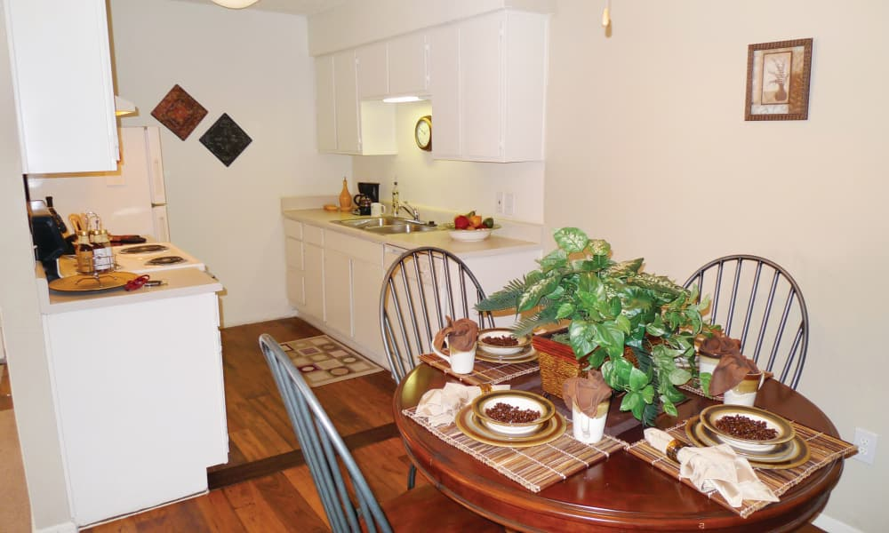 Beautiful kitchen at Ladera Palms in Fort Worth, TX