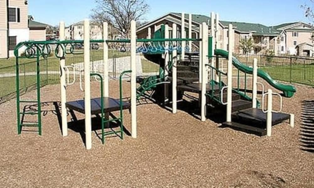 Playground at Fort Branch at Truman's Landing in Austin, Texas
