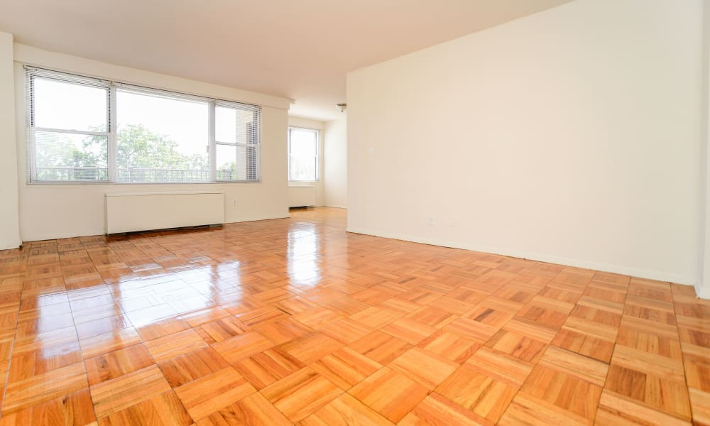 Westminster Towers Apartment Homes offers beautiful hardwood floors in our Elizabeth, New Jersey apartments
