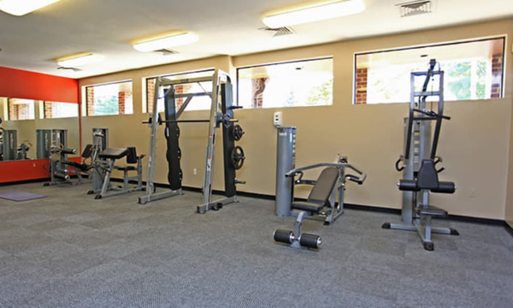 Our apartments in Randallstown, Maryland showcase a modern fitness center