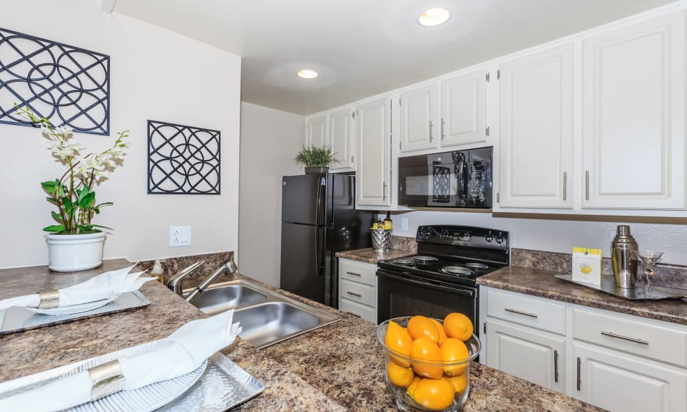 Gourmet kitchen at Parcwood Apartments