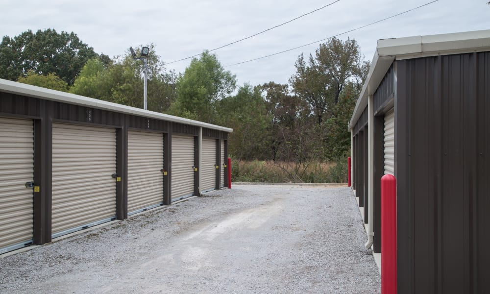 Secure grounds at My Oxford Storage