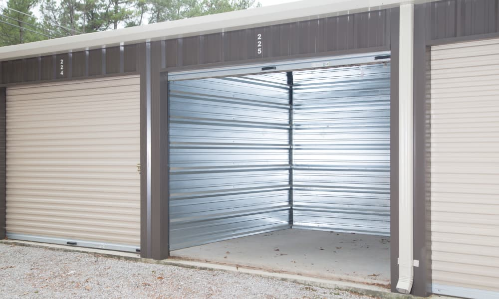 Medium empty storage unit for rent from My Oxford Storage