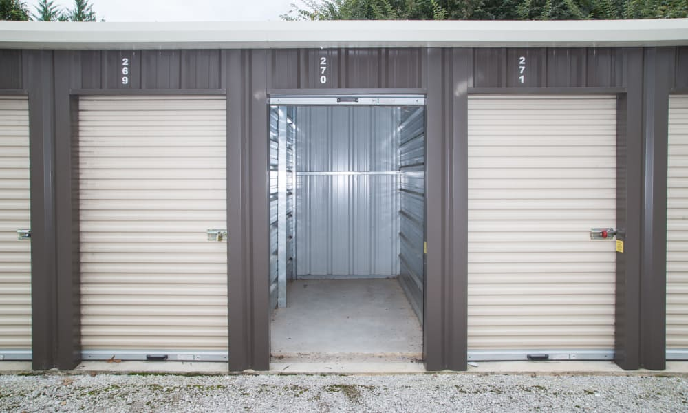 Small storage unit available for rent from My Oxford Storage