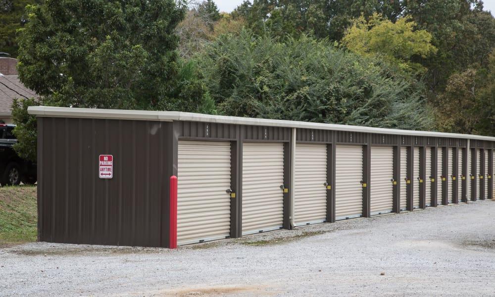 Medium external storage units from My Oxford Storage