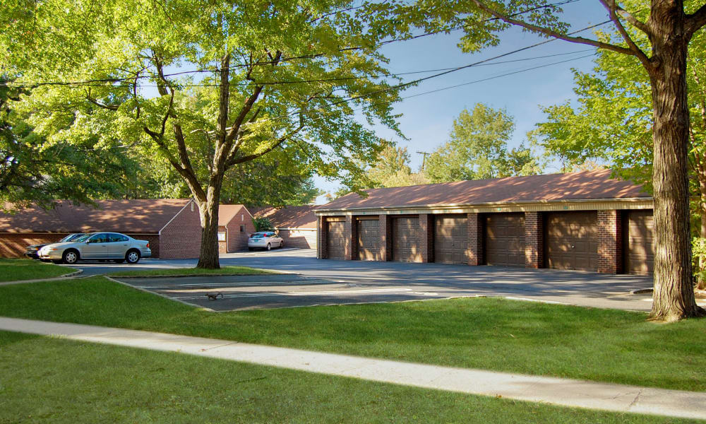 Garages at General Greene Village Apartment Homes in Springfield, NJ