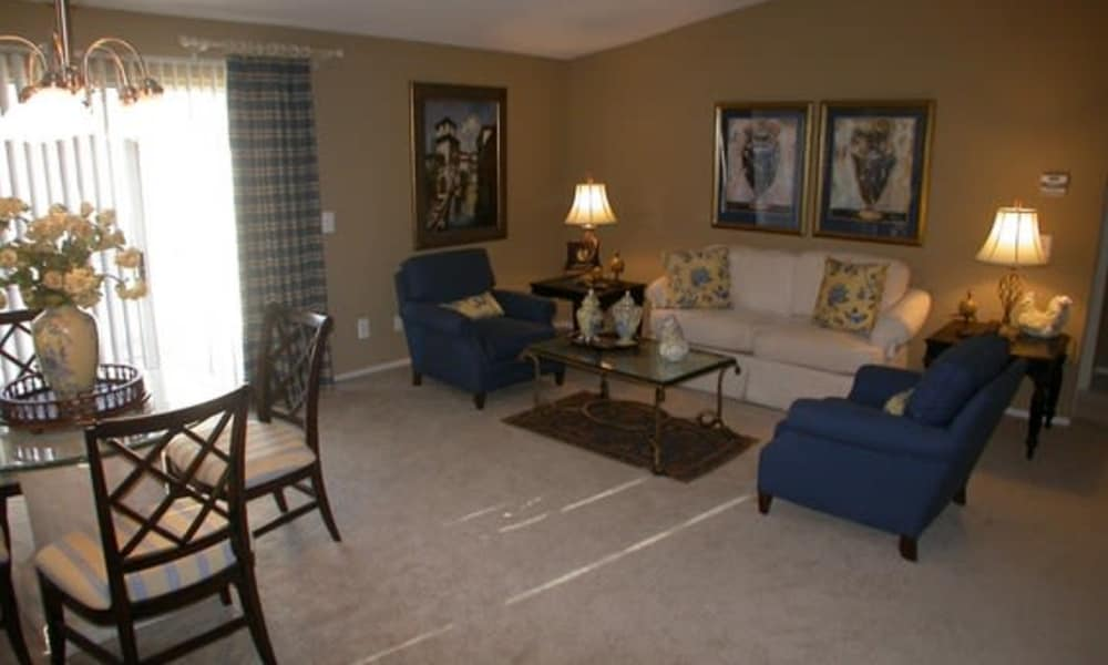 Amberly apartments offer ample living space