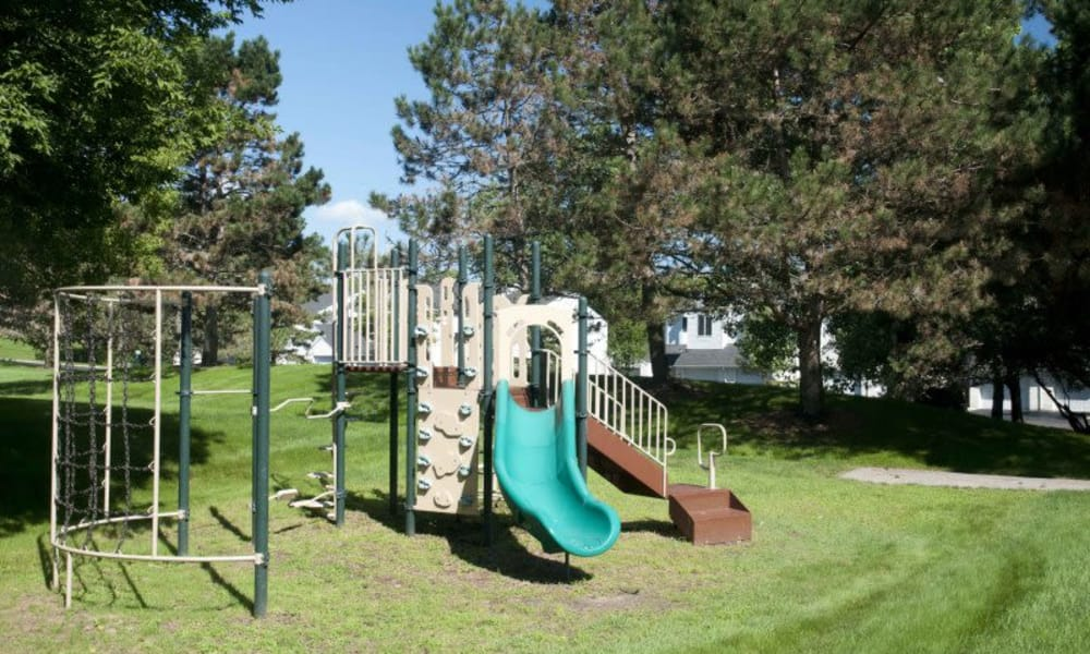 Playground at Amberly in West Bloomfield, Michigan