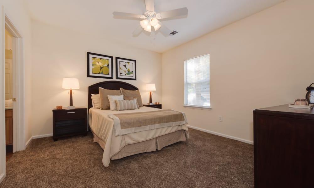 Our apartments in Lexington, SC showcase a spacious bedroom