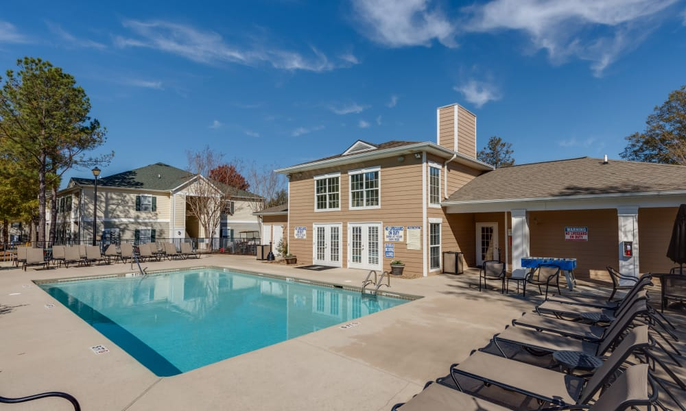 The Waterway Apartment Homes offers a swimming pool in Lexington, SC
