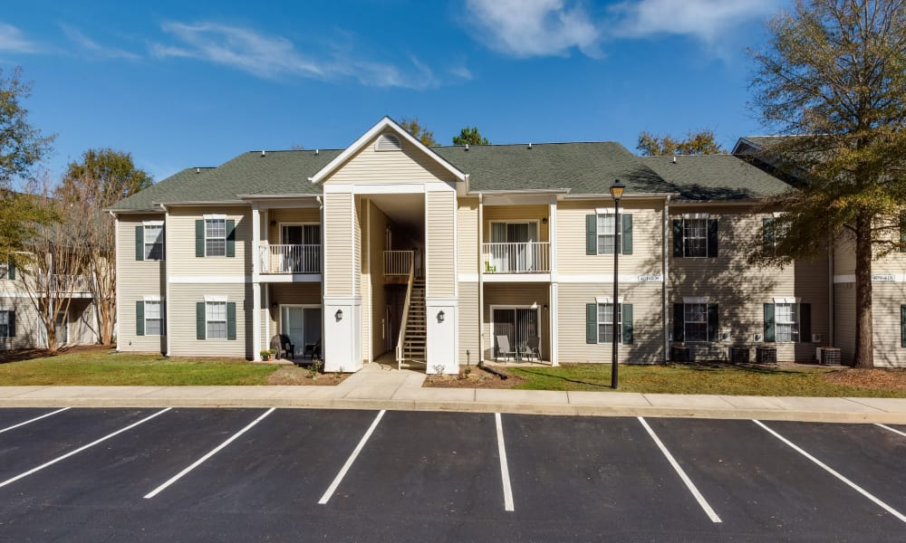 Our apartments in Lexington, SC offer a parking area