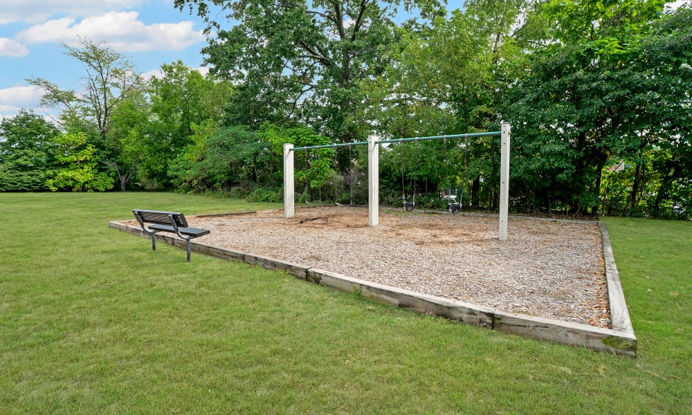 Swing set at Brookside Manor Apartments & Townhomes