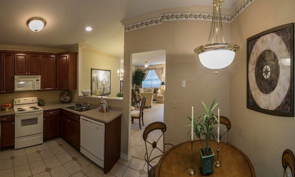 Enjoy a spacious kitchen at Brandywine